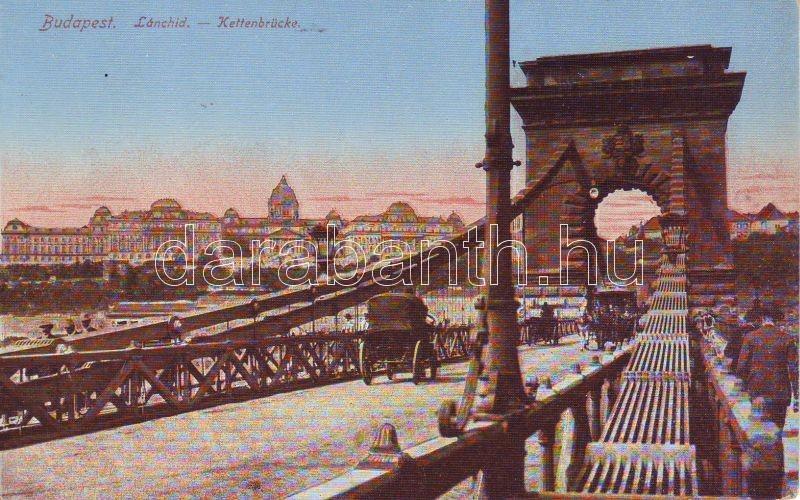 Budapest, Lánchíd, vár