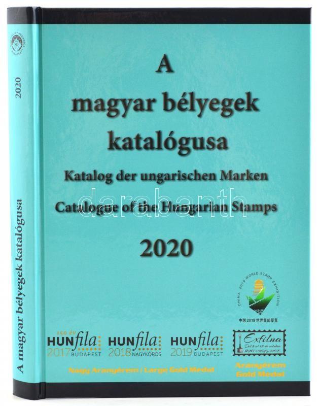Catalogue of the Hungarian stamps Vol I. latest edition 2020., Magyar bélyegek katalógusa I. kötet, frissített, bővített változat 2020. MEGJELENT, Katalog der Ungarischen Briefmarken 2020