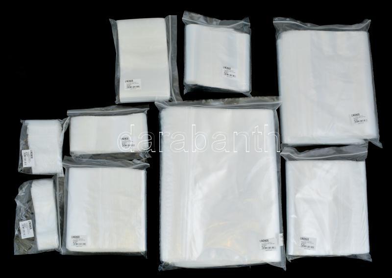 Poly bags, 300x400 mm - pack of 100, simítózáras zacskó 300x400 mm, 100 db/csomag (789), Polybeutel, 300x400 mm, 100er-Packung