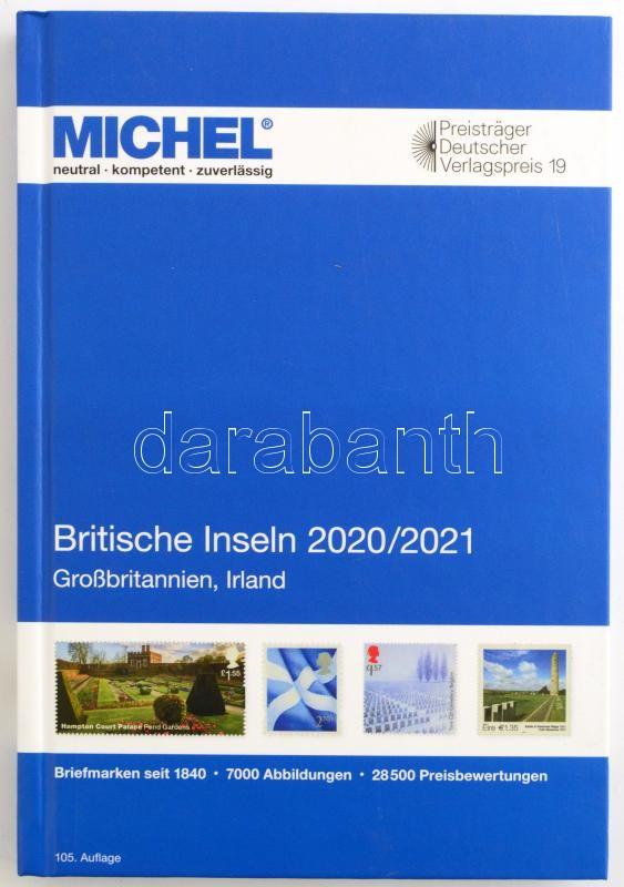 MICHEL Britische Inseln-Katalog 2020/2021 (E 13), MICHEL Brit szigetek katalogus 2020/2021 (E 13)  6086-2-2020, MICHEL Britische Inseln-Katalog 2020/2021 (E 13)