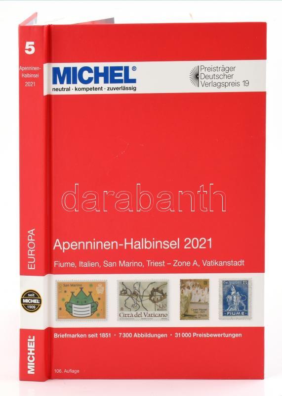 MICHEL Apenninen-Halbinsel 2021 (E 5), Michel Appennin-félsziget 2021, 6083-1-2021 (E5), MICHEL Apenninen-Halbinsel 2021 (E 5)