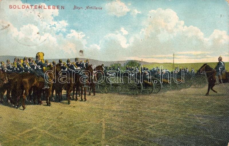 Bajor tűzérség, Bavarian Artillery