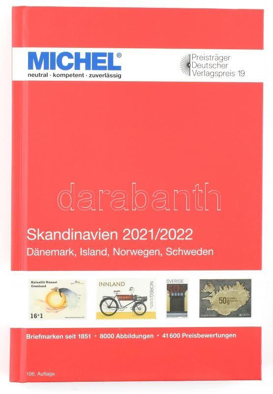 MICHEL Skandinavien-Katalog 2021/2022 (E 10), MICHEL Skandinávia katalógus 2021/2022 (E 10) 6085-1-2021, MICHEL Skandinavien-Katalog 2021/2022 (E 10)