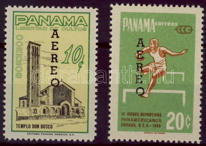 Freimarken Satz mit Aufdruck, Forgalmi bélyegek felülnyomott sor, Definitive stamps overprinted set