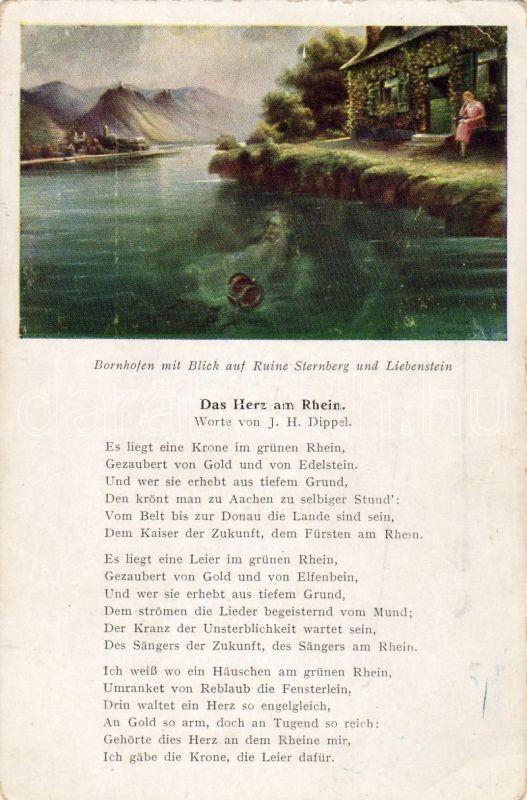 Kamp-Bornhofen, Sterrenberg, Liebenstein, 'Das Herz am Rhein', Kamp-Bornhofen, Sterrenberg, Liebenstein, 'Das Herz am Rhein'