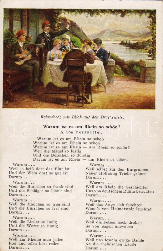 Rolandseck, Drachenfels, 'Warum ist es am Rhein so schön?', Rolandseck, Drachenfels, 'Warum ist es am Rhein so schön?'