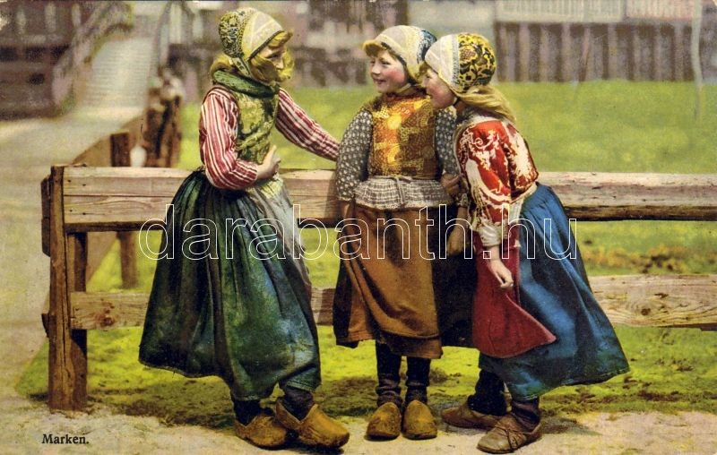 Marken, Dutch folklore, Marken, holland folklór