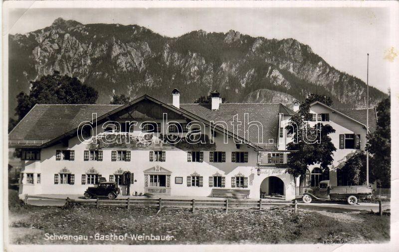 Schwangau, Weinbauer inn, Schwangau, Weinbauer vendéglő