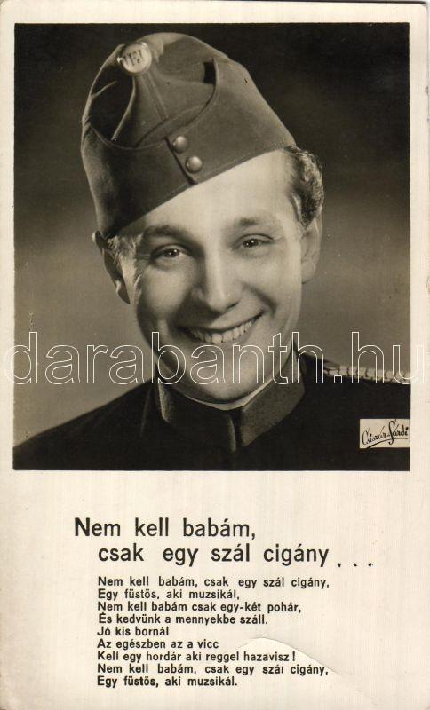 Gozmány György, Nem kell babám, csak egy szál cigány..., Gozmány György, Nem kell babám, csak egy szál cigány... / song