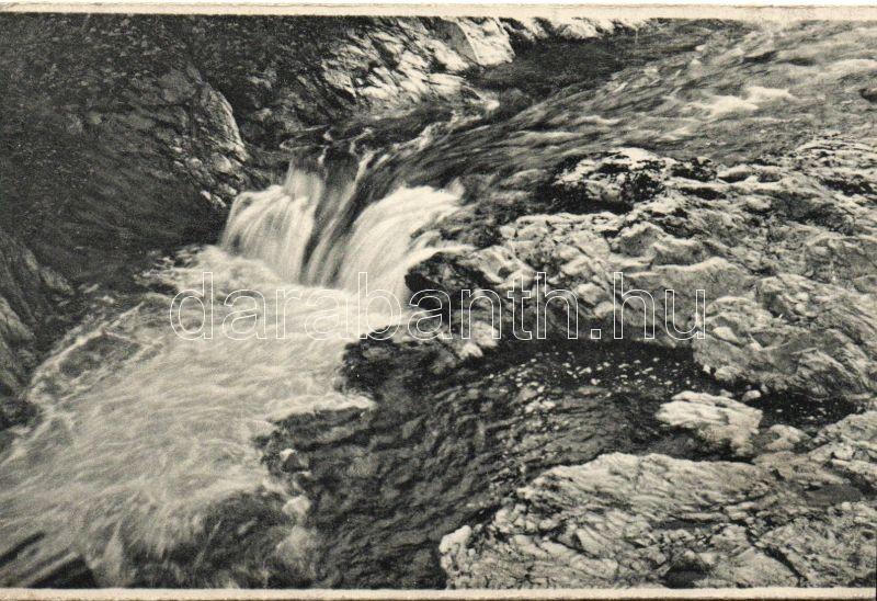 Baile Herculane, waterfall, Herkulesfürdő, vízesés