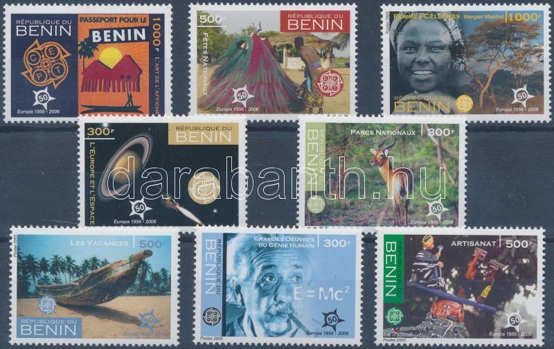 50th anniversary of first EUROPA stamps set, 50 éves az EUROPA bélyeg sor, 50 Jahre Europamarken Satz
