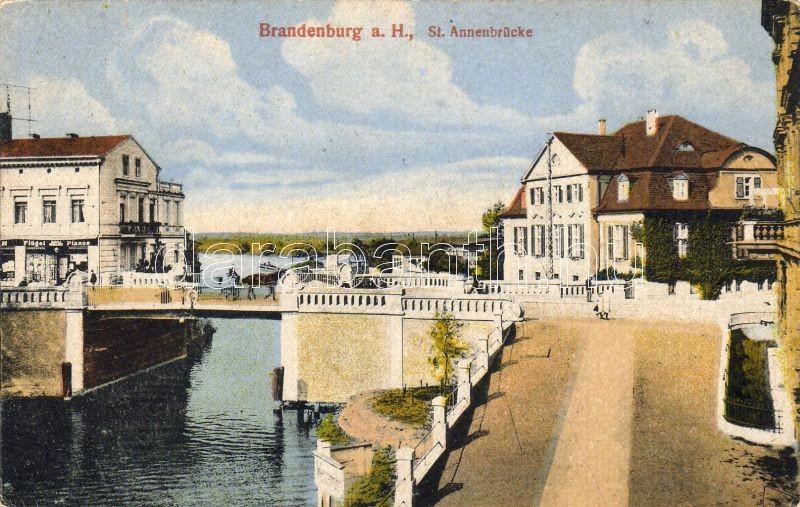 Brandenburg, St. Annenbrücke / bridge, Brandenburg, St. Annenbrücke / híd