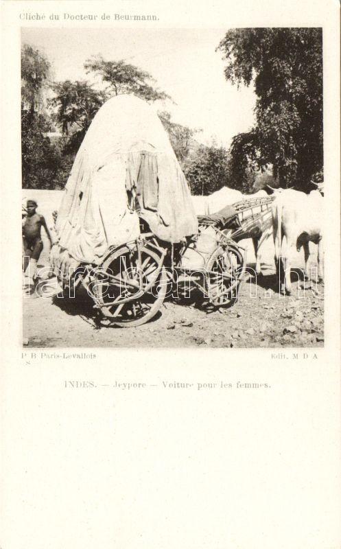 Jeypore, Voiture pour les femmes / carriage for women