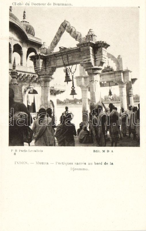 Mathura, Muttra; Sacred gates at the edge of the Djoumma