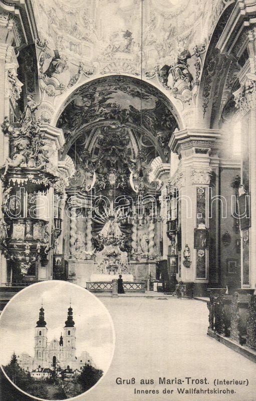 Graz Mariatrost templombelső, Graz Mariatrost church interior