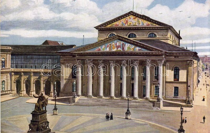 Munich, National theatre, Wiro series, München, Nemzeti színház, Wiro sorozat