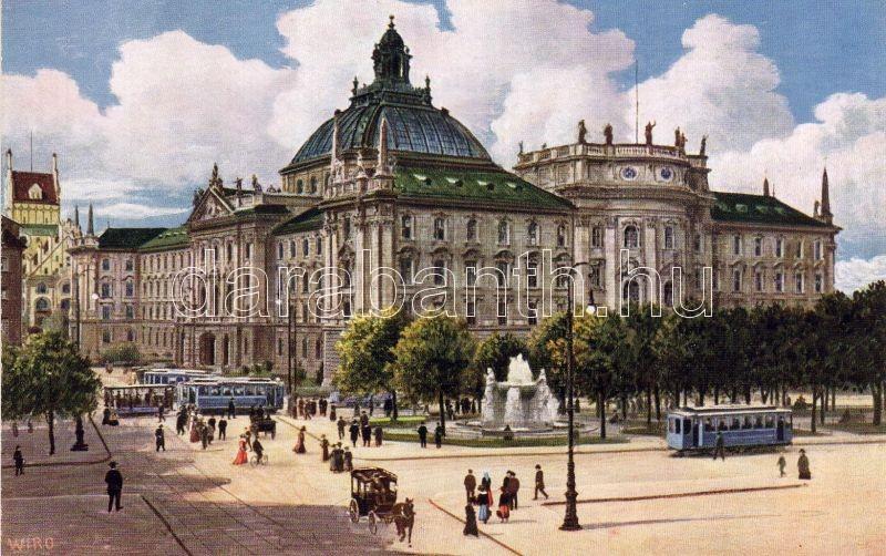 München, Igazságügyi palota, Wiro sorozat, Munich, Justice palace, Wiro series