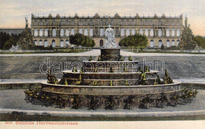 Herrenchiemsee, kastély, Herrenchiemsee, palace