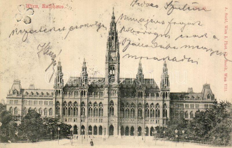 Bécs, városháza, Vienna, town hall