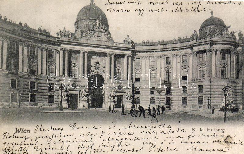 Vienna, Hofburg / palace, Bécs, Hofburg / császári palota