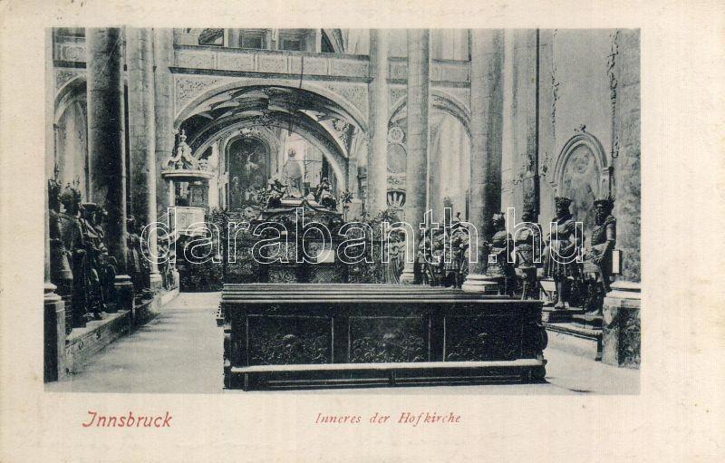 Innsbruck, Hofkirche / Court Church interior, Innsbruck, Hofkirche / templom belső