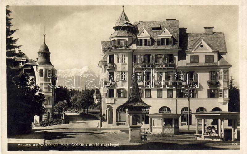 Velden am Wörthersee, Mittagskogel, Hotel Carinthia, Velden am Wörthersee, Mittagskogel, Hotel Carinthia