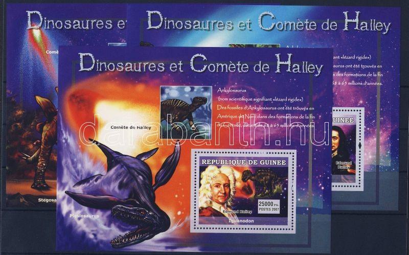 Natural history 3 blocks, Természettudomány 3 blokk, Naturkunde 3 Blöcke