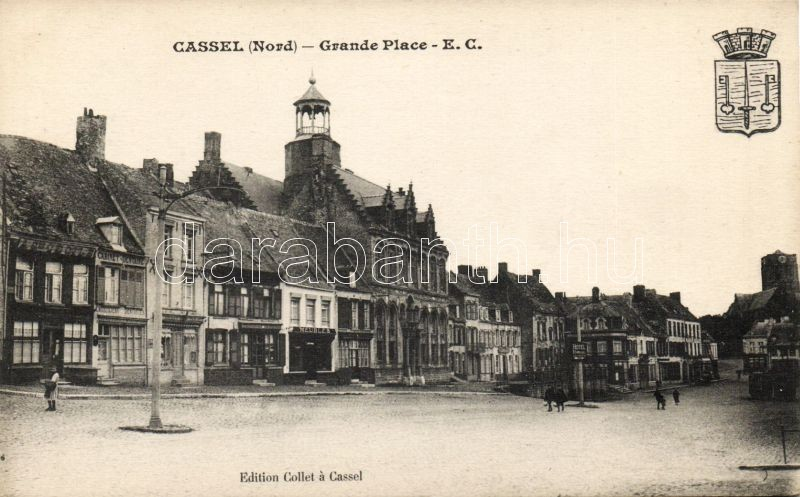 Cassel, Grande Place, Hotel familial, Meubles, Cabinet Dentaire / square, hotel, dentistry