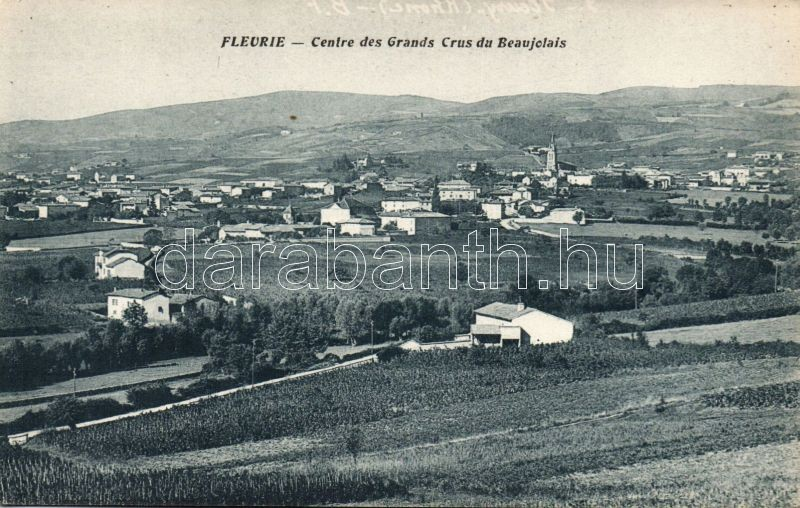 Fleurie, Centre des Grands Crus du Beaujolais