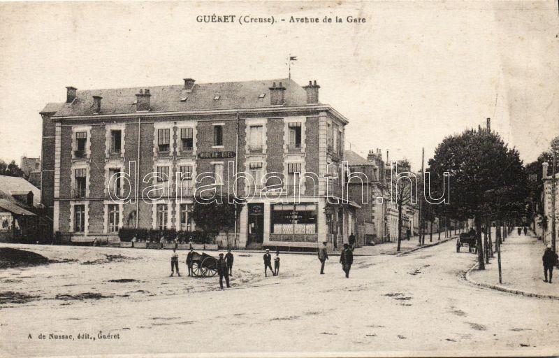 Guéret, Avenue de la Gare, Modern Hotel