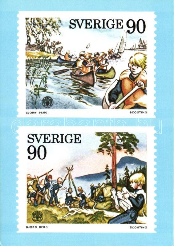 1975 Scouting s: Björn Berg, 1975 Cserkészet s: Björn Berg