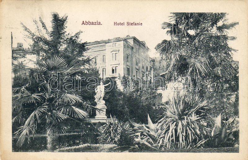 Abbazia, Hotel Stefanie, Abbazia, Stefanie hotel