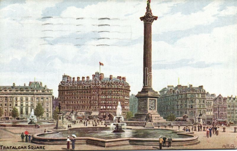 London, Trafalgar square s: A. R. Quinton
