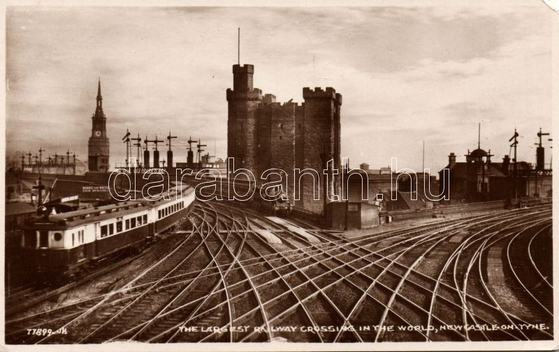 Newcastle, Largest railway crossing in the world, train, Morris the writer