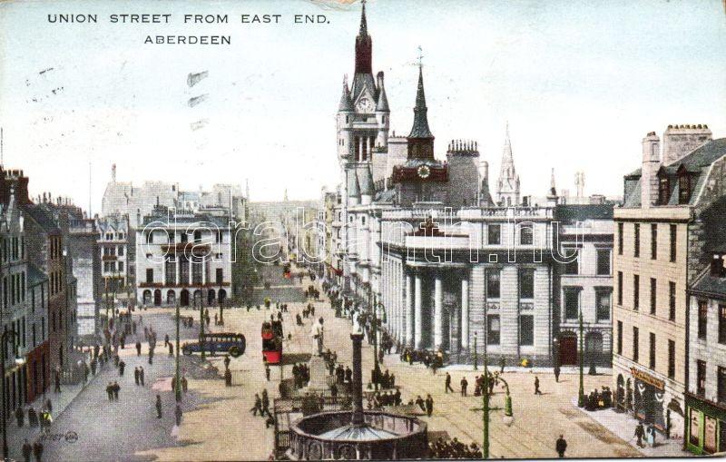Aberdeen, Union street, autobus