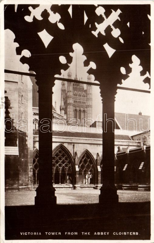 London, Victoria Tower, Abbey Cloister