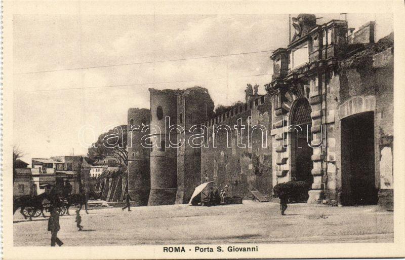 Rome, Roma; Porta San Giovanni