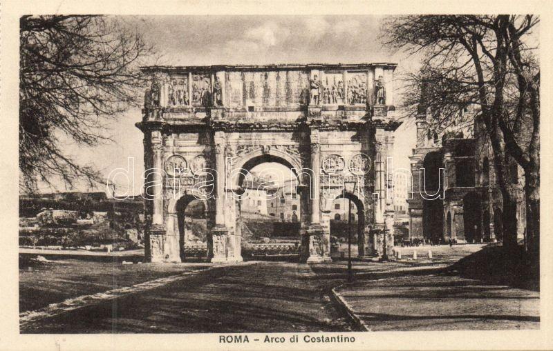 Rome, Roma; Arco di Constantino / arch