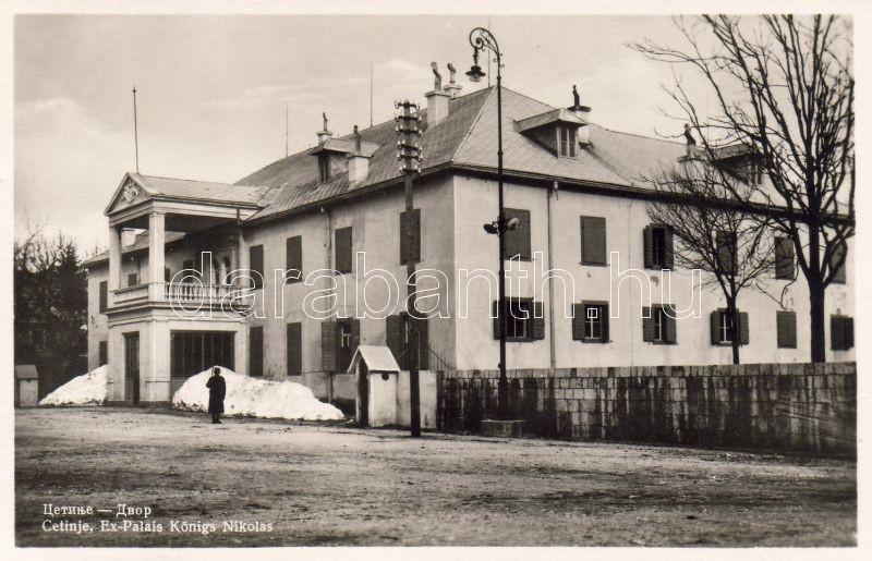 Cetinje, palace, Cetinje, királyi palota