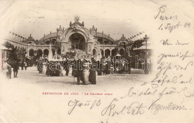 Paris Expo 1900, Párizs kiállítás 1900