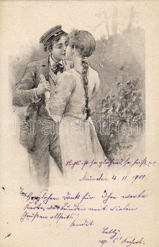 Kissing couple, Csókolózó pár