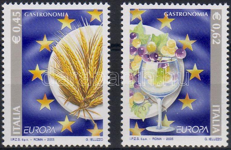 EUROPA CEPT gastronomy set, EUROPA CEPT gasztronómia sor, EUROPA CEPT Gastronomie Satz