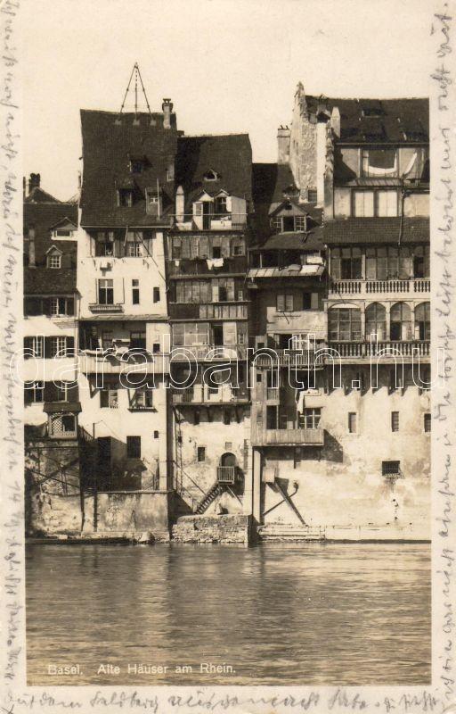 Basel, Rhine, Bázel, Rajna