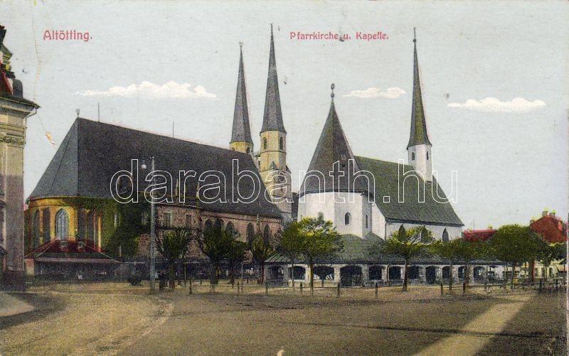 Altötting church and chapel, Altötting templom és kápolna