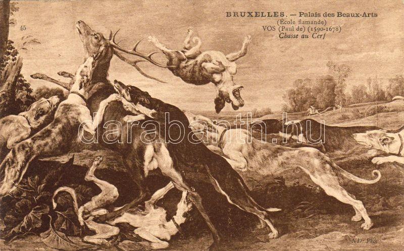 Paul de Vos: Deer hunting, Paul de Vos: Szarvas vadászat