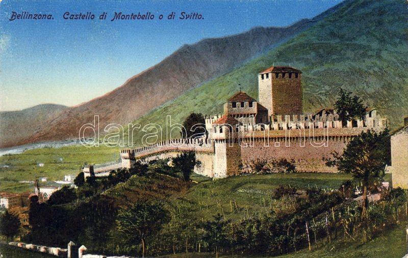 Bellinzona, Montebello castle, Bellinzona, Montebello kastély