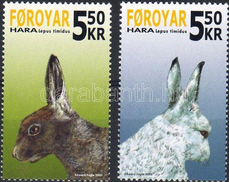 Rabbits set, Nyulak sor, Schneehase Satz