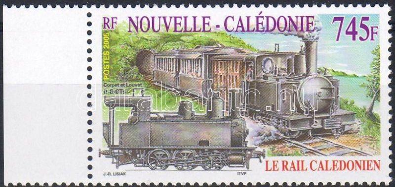 Railway margin stamp, Vasút ívszéli bélyeg, Eisenbahn Marke mit Rand
