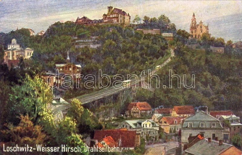 Dresden, Weisser Hirsch (Loschwitz), funicular railway, Dresden, Weisser Hirsch (Loschwitz), sikló
