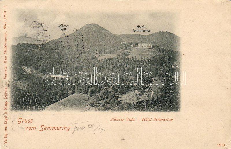 Semmering, Villa Silberer, Hotel Semmering, Semmering, Silberer villa, Semmering hotel
